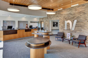 Interior photo of New Valley Bank